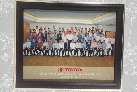 2012 Toyota Parts Dealer Appreciation Dinner