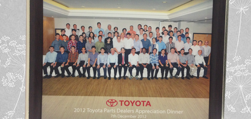 2012 Toyota Parts Dealer Appreciation Dinner